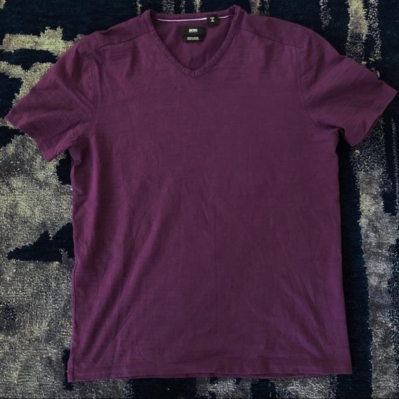63194d413 Hugo Boss Shirts | Mens Boss By Vneck Tee Size Medium | Poshmark